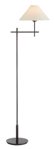 Bronze Bridge Arm Floor Lamp