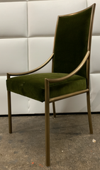 Empiric Burnished Brass Dining Chair