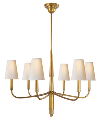 Farlane Small Chandelier in Brass