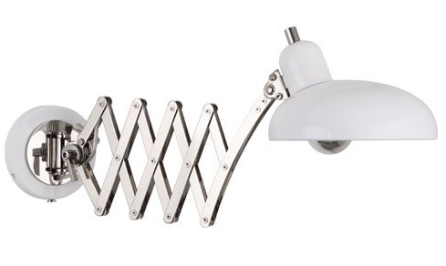 Normandy Wall Light in White