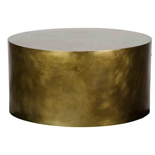 Lorene Brass Coffee Table