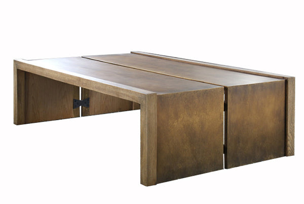 Mixed Material Coffee Table