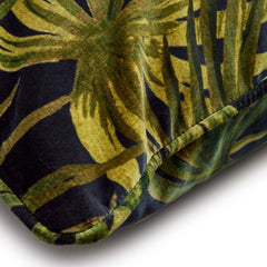 Pair, Palmeral Large Velvet Pillow