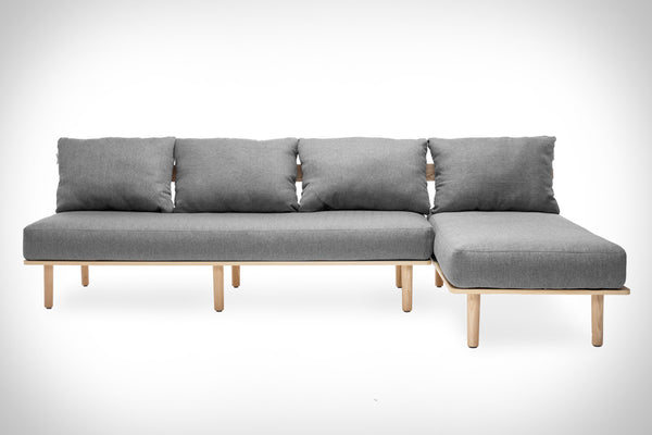 Two Piece Felix Sofa by Greycork