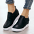 Plain Round Toe Casual Date Travel Sneakers