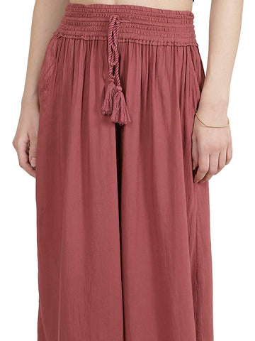 Apple Butter Red Basic Culottes