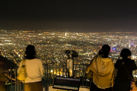 Mount Moiwa Night View