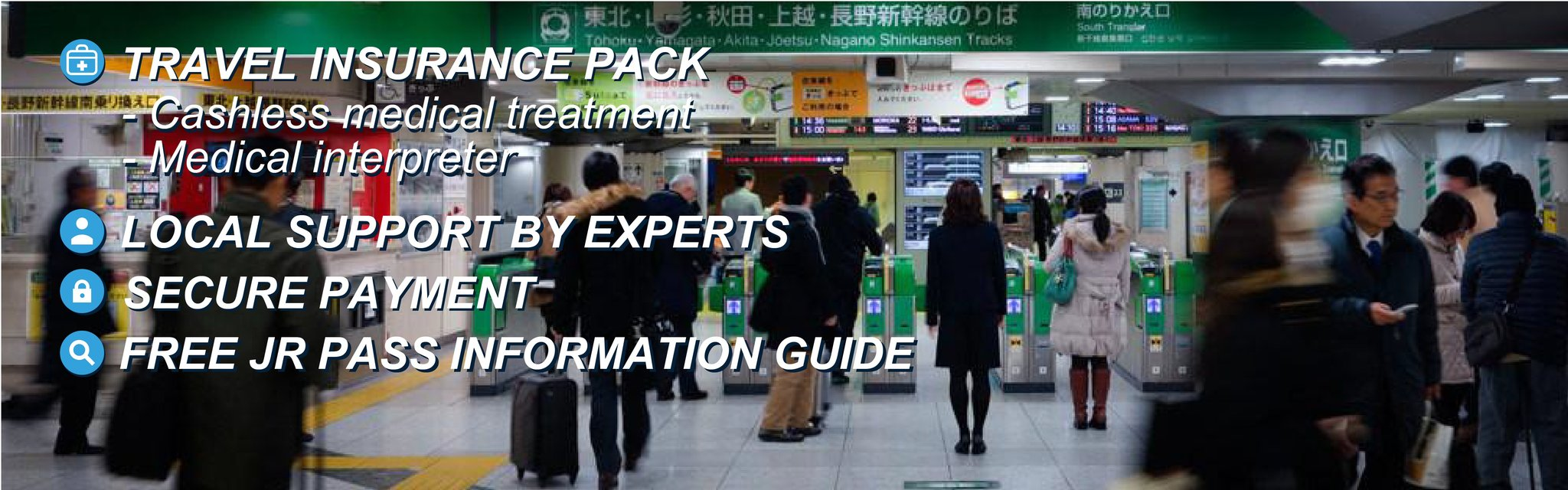 Be ready for your travel in Japan
