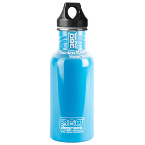 360 Degrees 550ml Stainless Steel Drink Canteen - Sky Blue
