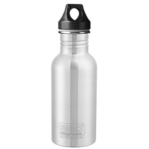 360 Degrees 550ml Stainless Steel Drink Canteen - Stainless Steel