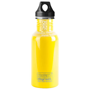 360 Degrees 550ml Stainless Steel Drink Canteen - Yellow