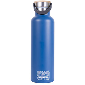 360 Degrees 750ml Stainless Steel Vacuum Insulated Drink Canteen - Ocean Blue