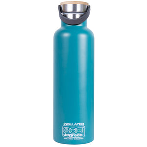360 Degrees 750ml Stainless Steel Vacuum Insulated Drink Canteen - Teal