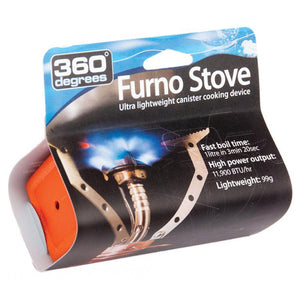 360 Degrees Furno Stove, Packaged