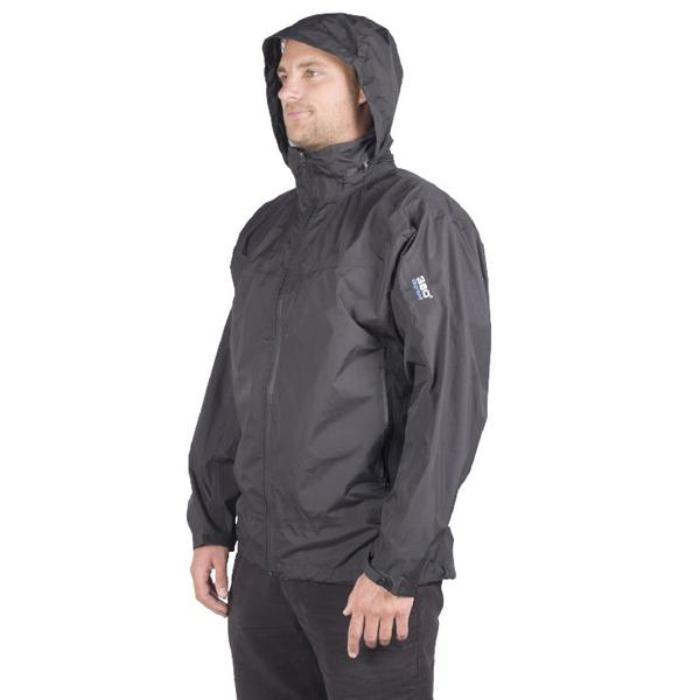 360 Degrees Stratus Waterproof Jacket - Black
