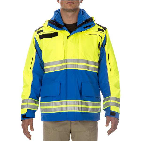 5.11 Tactical High Visibility Responder Parka Royal Blue