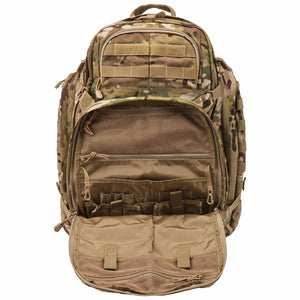 5.11 Tactical Rush 72 Backpack - MultiCam, Front Open