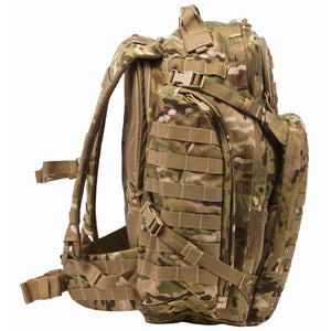 5.11 Tactical Rush 72 Backpack - MultiCam, Side View