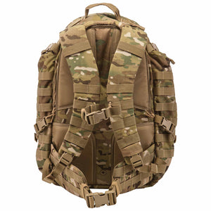 5.11 Tactical Rush 72 Backpack - MultiCam, Rear