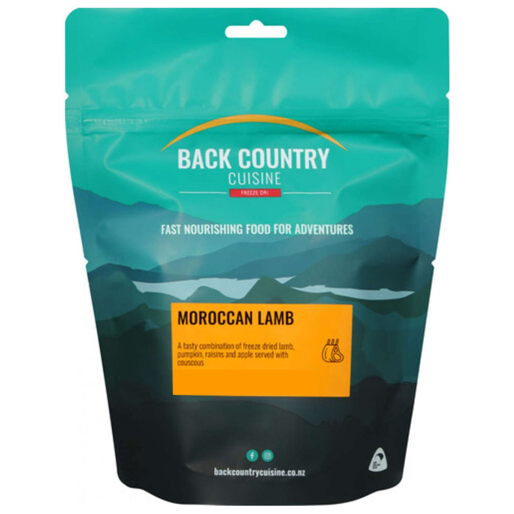 Back Country Cuisine Freeze Dried Moroccan Lamb