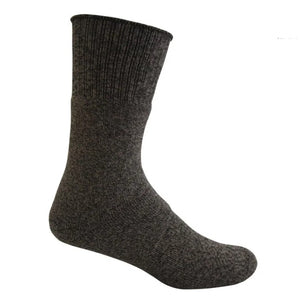 Bamboo Textiles Charcoal Hiker Bamboo Sock - Black Grey Merle
