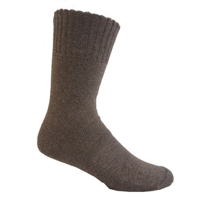 Bamboo Textiles Charcoal Hiker Bamboo Sock - Walnut Grey Merle