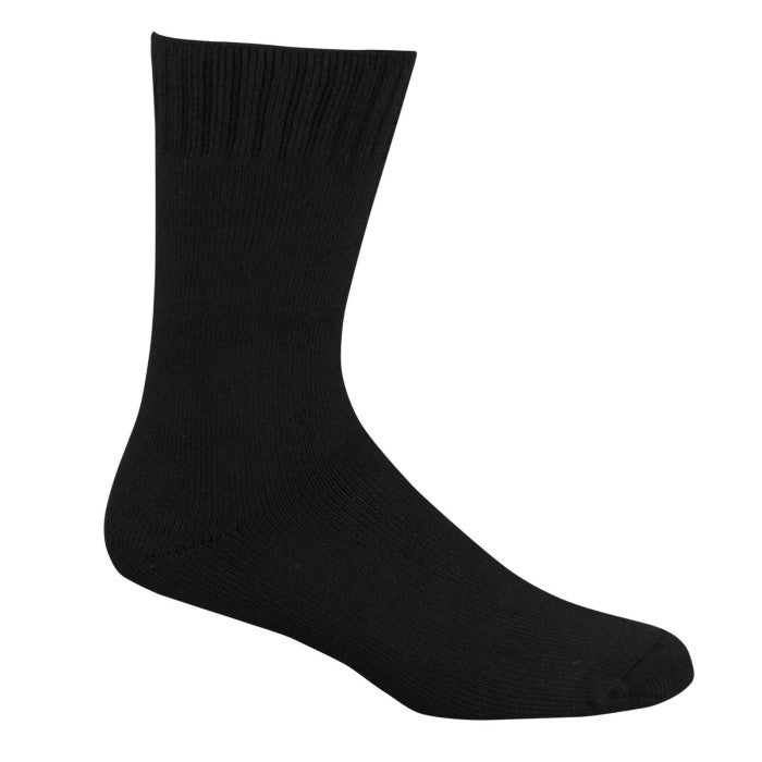Bamboo Textiles Extra Thick Bamboo Sock - Black