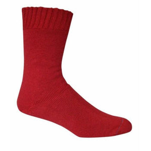 Bamboo Textiles Extra Thick Sock - Burnt Red