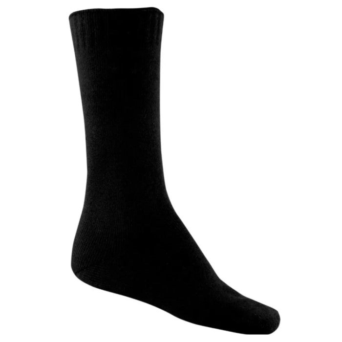 Bamboo Textiles Faster Drying Bamboo Sock - Black