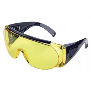 Allen Fits Over Shooting Safety Glasses - Yellow Lens