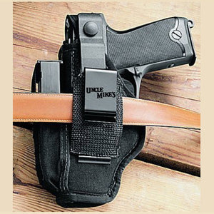 Uncle Mike's Size 1 Sidekick Ambidextrous Hip Holster, Fitted