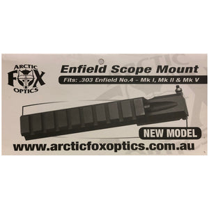 Arctic Fox Optics .303 Lee-Enfield No 4 MK 1, 2 & 5 Rail Base Mount