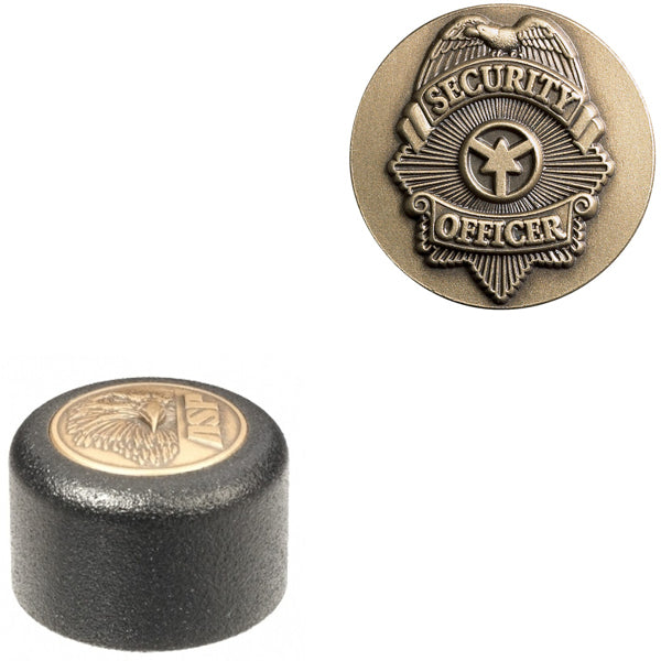ASP Baton Logo End Cap With Security Officer Insignia