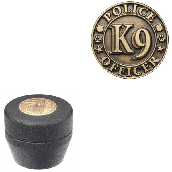 ASP Baton Logo Grip Cap With K9 Police Officer Insignia