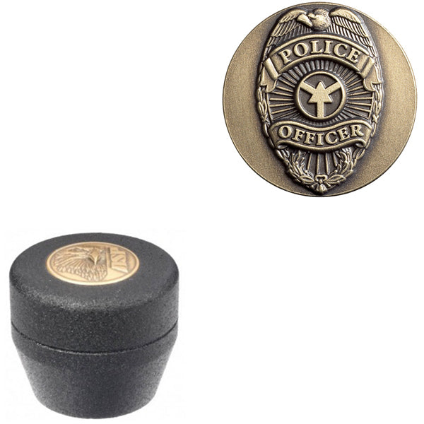 ASP Baton Logo Grip Cap With Police Officer Insignia