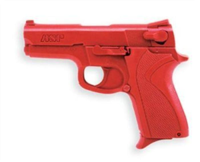 ASP 07313 Red Training Gun Aid - S&W 9mm/.40 Compact