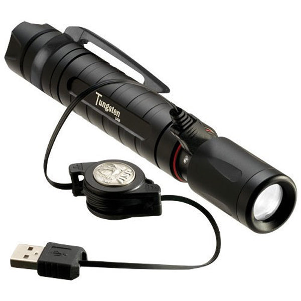 ASP Tungsten 335 Lumen LED USB Rechargeable Torch