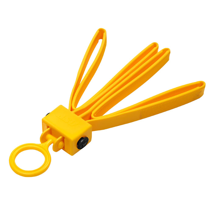 ASP Tri-Fold Double Plastic Restraint Yellow - 6 Pack