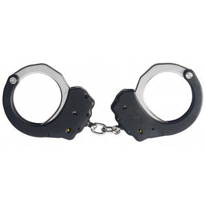 ASP Security Ultra Steel Bow Chained Handcuffs - Black