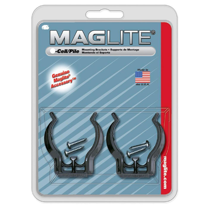 Maglite D-Cell Torch Mounting Brackets
