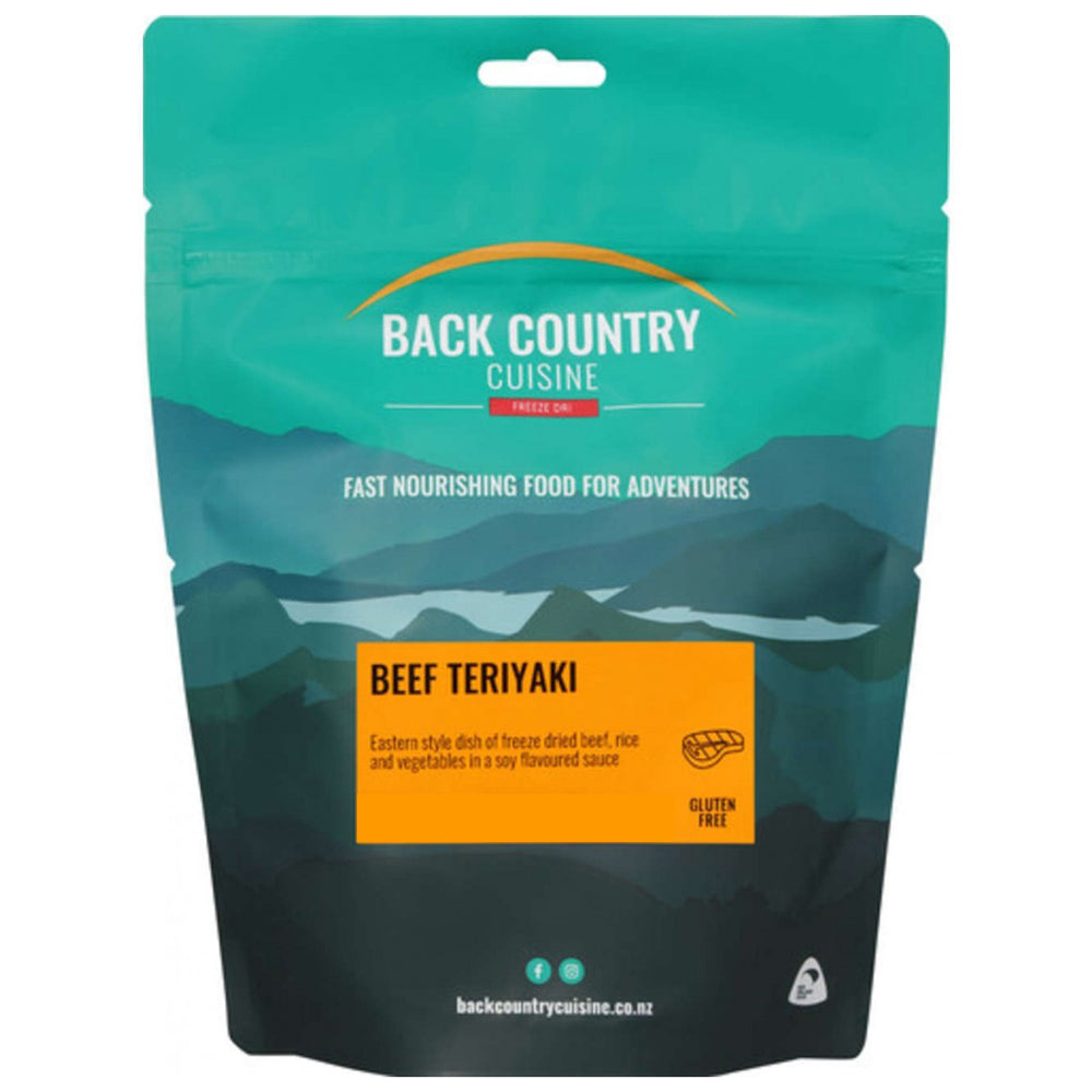 Back Country Cuisine Freeze Dried Beef Teriyaki
