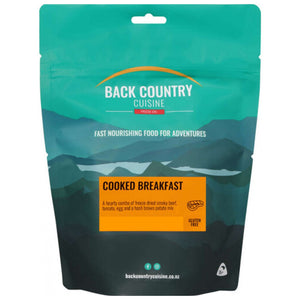 Back Country Cuisine Freeze Dried Cooked Breakfast