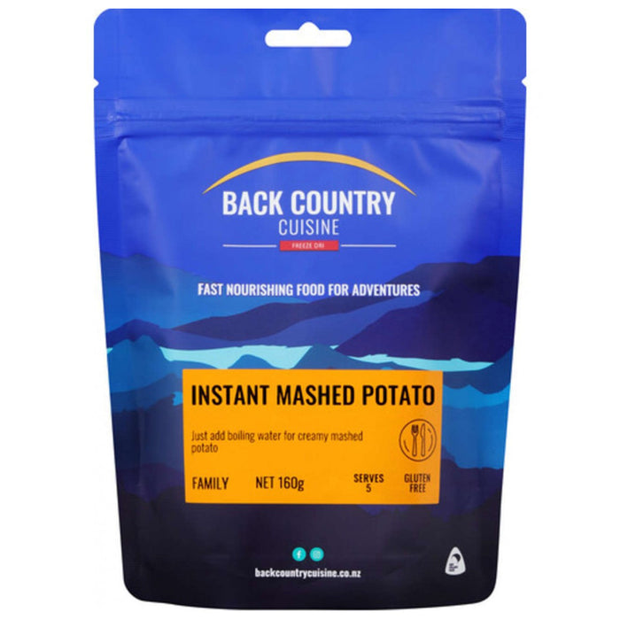 Back Country Cuisine Freeze Dried Instant Mashed Potato 5 Serves