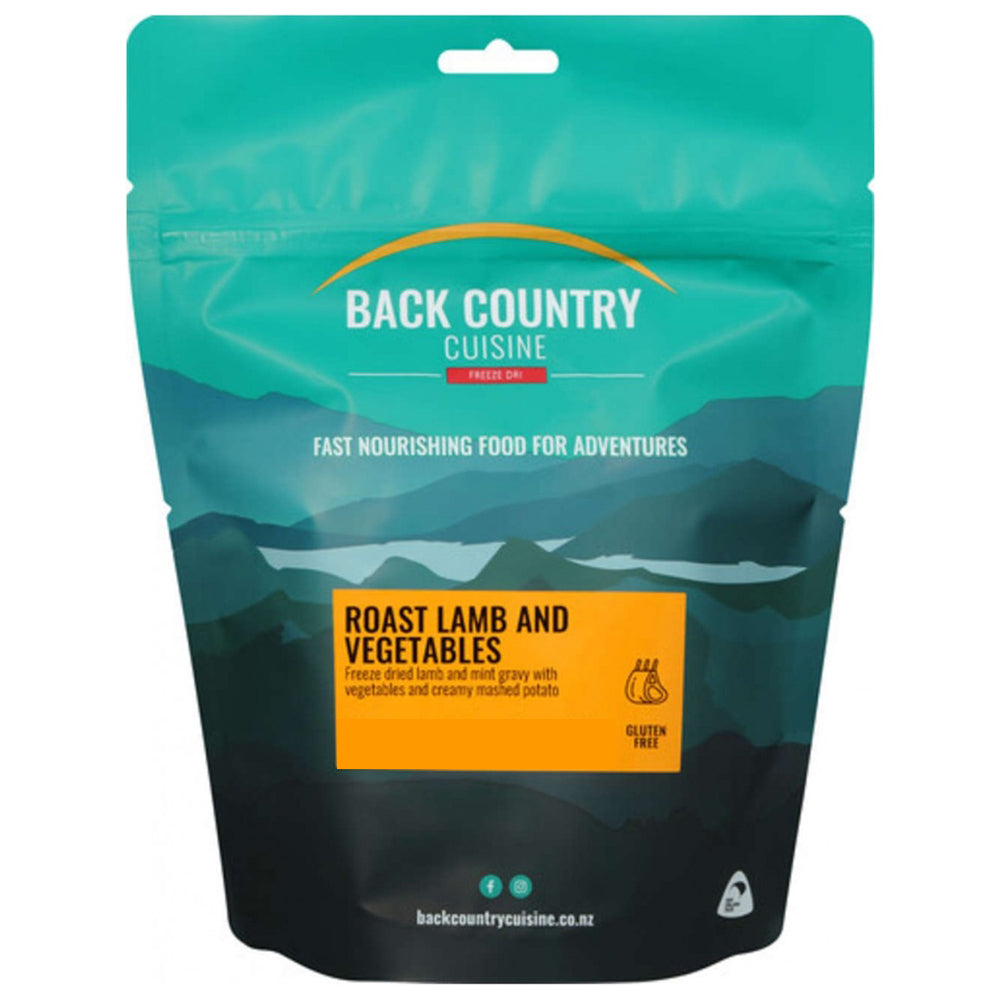 Back Country Cuisine Freeze Dried Roast Lamb & Vegetables