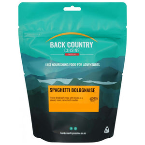 Back Country Cuisine Freeze Dried Spaghetti Bolognaise