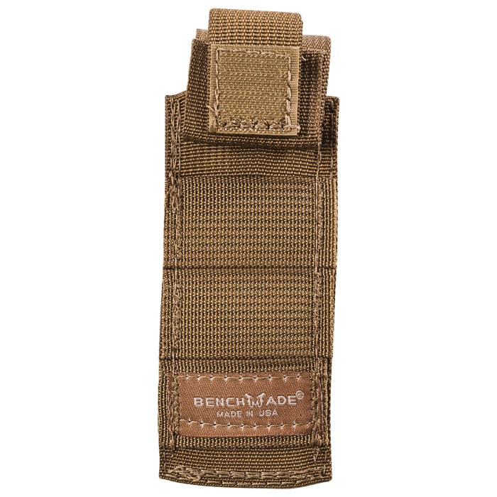BENCHMADE MOLLE Compatible Folding Knife Pouch - Coyote