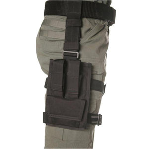 BLACKHAWK! OMEGA ELITE Double Pistol Mag/Single Cuff Pouch
