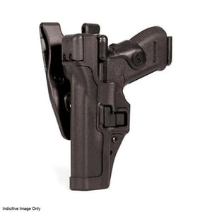 BLACKHAWK! SERPA LVL 3 Auto Lock Duty Holster - Suits Glock 17, 19, 22, 23, 31 & 32, Left Hand