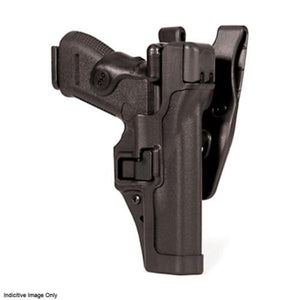 BLACKHAWK! SERPA LVL 3 Auto Lock Duty Holster - Suits H&K P2000 (US), Right Hand