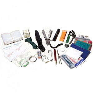 Bob Cooper Survival Kit, Contents Displayed